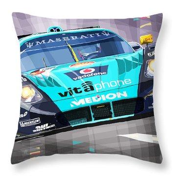 Maserati Mc12 Gt1 Throw Pillow