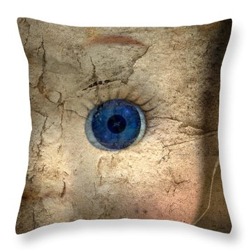 Mask Of Madness Throw Pillow