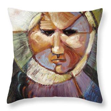 Masking Enjoyment Throw Pillow