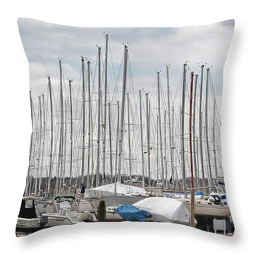 Glen Cove Mast Appeal Throw Pillow