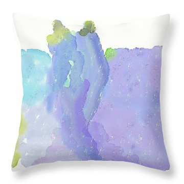 Master And Servant Throw Pillow by Len YewHeng