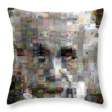 Master Of Numbers Throw Pillow