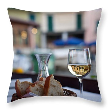 Mastering The Art Of Living Well Throw Pillow by Mike Reid