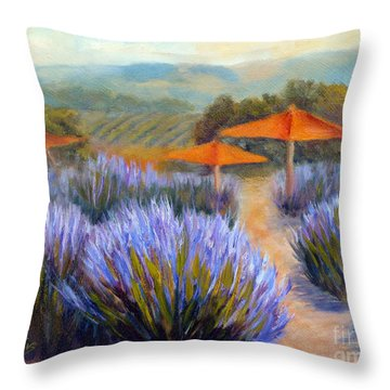 Matanzas Late June Throw Pillow