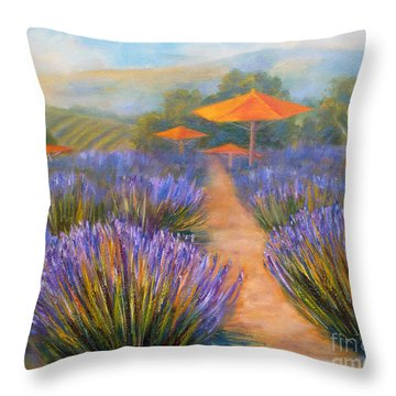 Matanzas Winery Throw Pillow