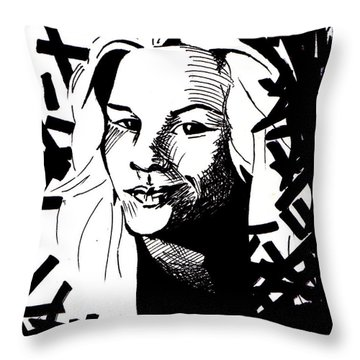 Match My Poem Entry Throw Pillow