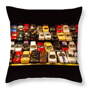 Allied Matchbox Cars  Throw Pillow