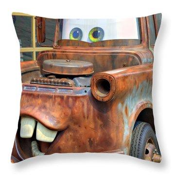 Mater Throw Pillow