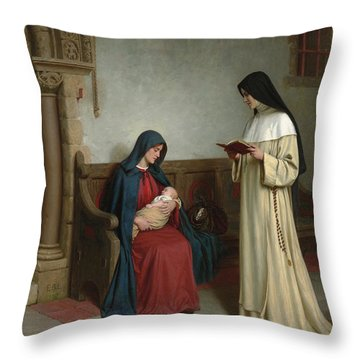 Maternity Throw Pillow