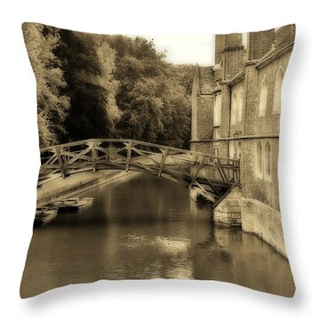 Mathematical Bridge Throw Pillow