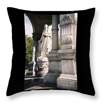 Mather Classical Revival Architecture Throw Pillow
