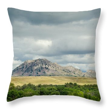 Matho Paha Throw Pillow