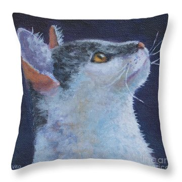 Matisse Throw Pillow by Jana Baker