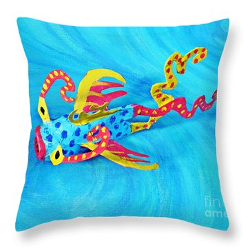 Matisse The Fish Throw Pillow