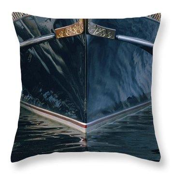Matriark - Lake Geneva Wisconsin Throw Pillow