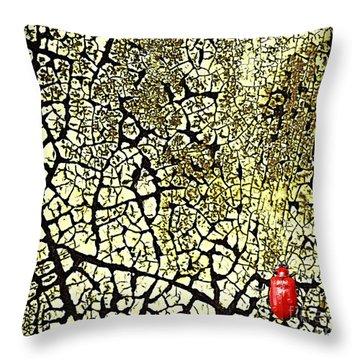 Matrix I Throw Pillow