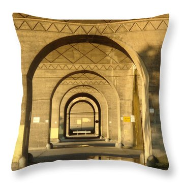 Throw Pillow featuring the photograph Matryoska by Joseph Skompski