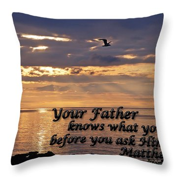 Matthew  Throw Pillow by Aimee L Maher Photography and Art Visit ALMGallerydotcom