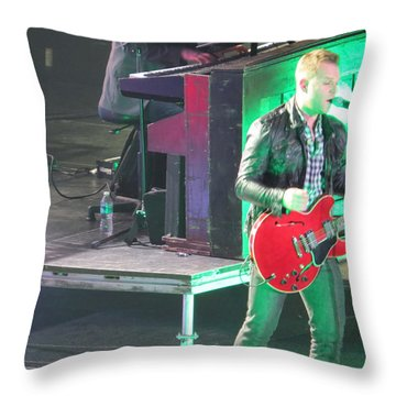 Matthew West At Winterjam Throw Pillow