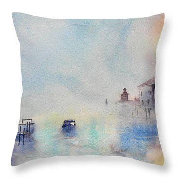 Mattinata Mistosa Throw Pillow