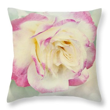 Throw Pillow featuring the photograph Maud by Elaine Teague