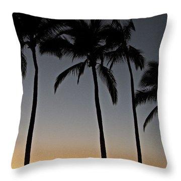 Maui Sunset II Throw Pillow