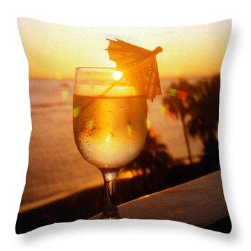 Maui Wine Hawaii Throw Pillow by Jerome Stumphauzer