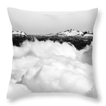 Mauna Kea Throw Pillow by Denise Bird