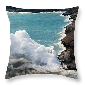Mauna Loa Throw Pillow
