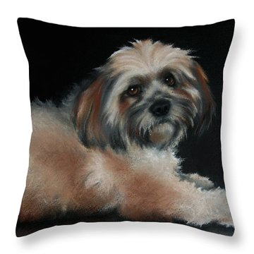 Maxi Throw Pillow by Cynthia House