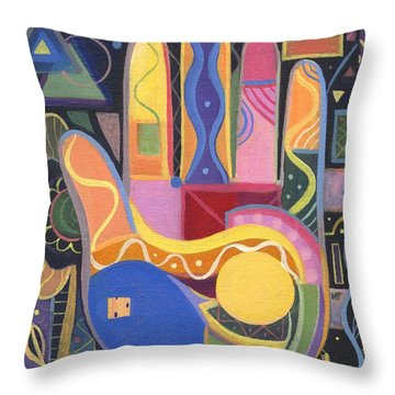 May Creativity Be A Blessing Throw Pillow