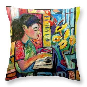 May Dreams Throw Pillow