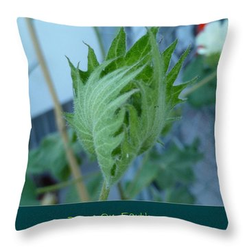 May Peace On Earth Throw Pillow
