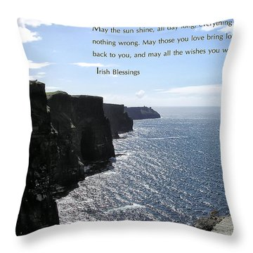 May The Sun Shine All Day Long Throw Pillow by Bill Cannon