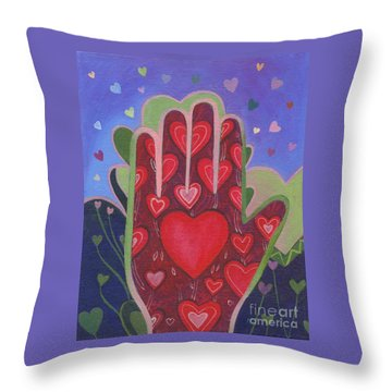 May We Choose Love Throw Pillow