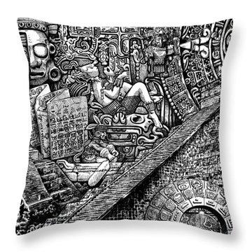 Mayannual Throw Pillow