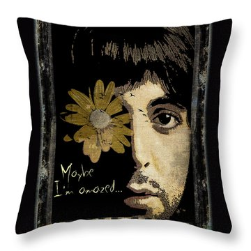Maybe I'm Amazed... Throw Pillow by Marie  Gale