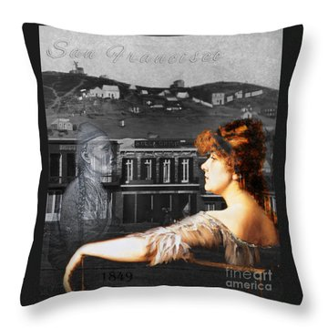 Maybel And Song Throw Pillow