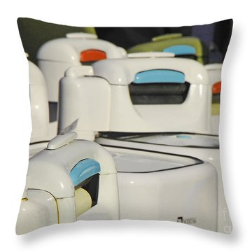Maytag Throw Pillow by Mary Carol Story