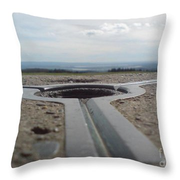 Throw Pillow featuring the photograph Maytrig by John Williams