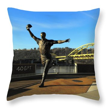 Maz Again In 2011 Throw Pillow by Spencer McKain