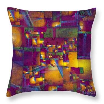 Maze Of The Heart Throw Pillow