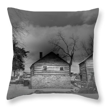 Mccormick Farm 2 Throw Pillow by Todd Hostetter