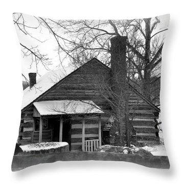 Mccormick Farm 4 Throw Pillow by Todd Hostetter
