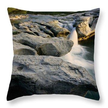 Mckinney Falls Throw Pillow