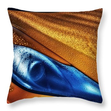 Mclaren Dew Throw Pillow