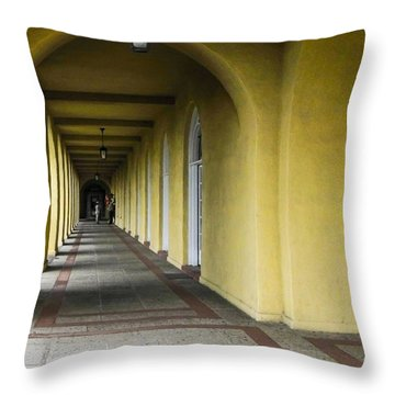 Mcrd Down These Halls Throw Pillow