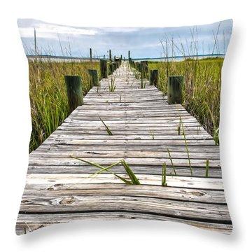 Mcteer Dock Throw Pillow