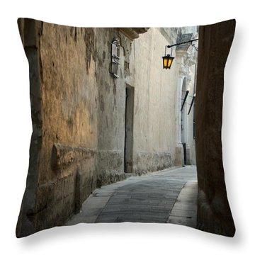 Mdina-malta Throw Pillow