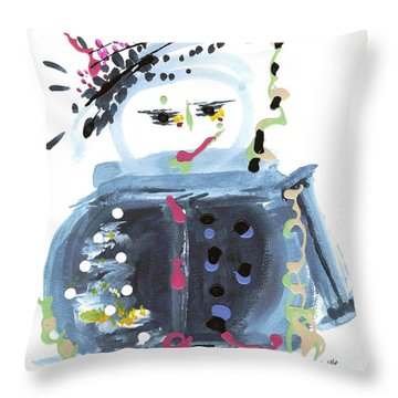 Me Stewpot Throw Pillow